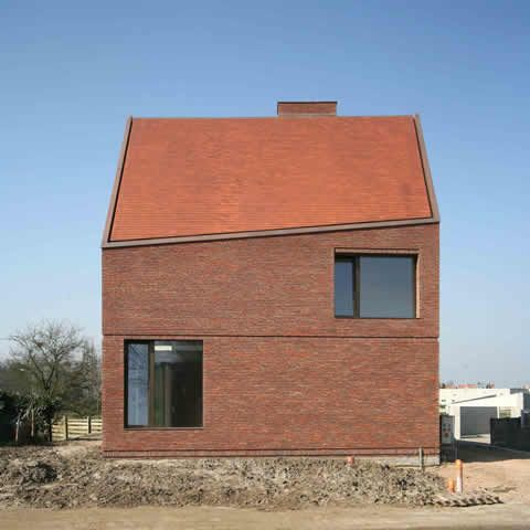 Architecture House Blog vekemans, re-st, herentals, brick, architecture, contemporary, i