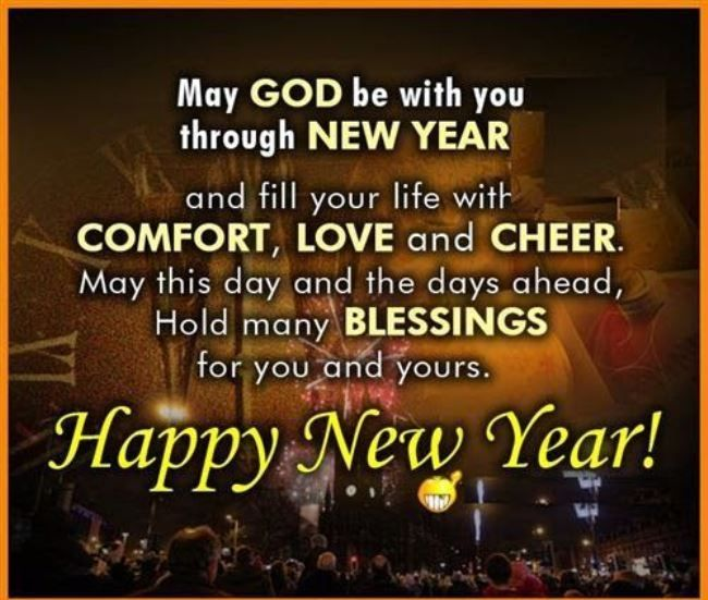 Meanigful Christian Quote Happy New Year Funny Picture Nice Design