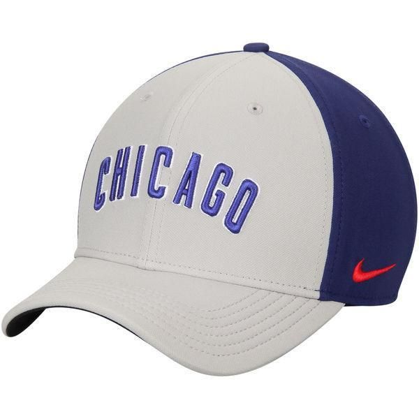 newest collection 51c32 15009 Chicago Cubs Nike Gray Royal Color Vapor Classic Adjustable Performance Hat
