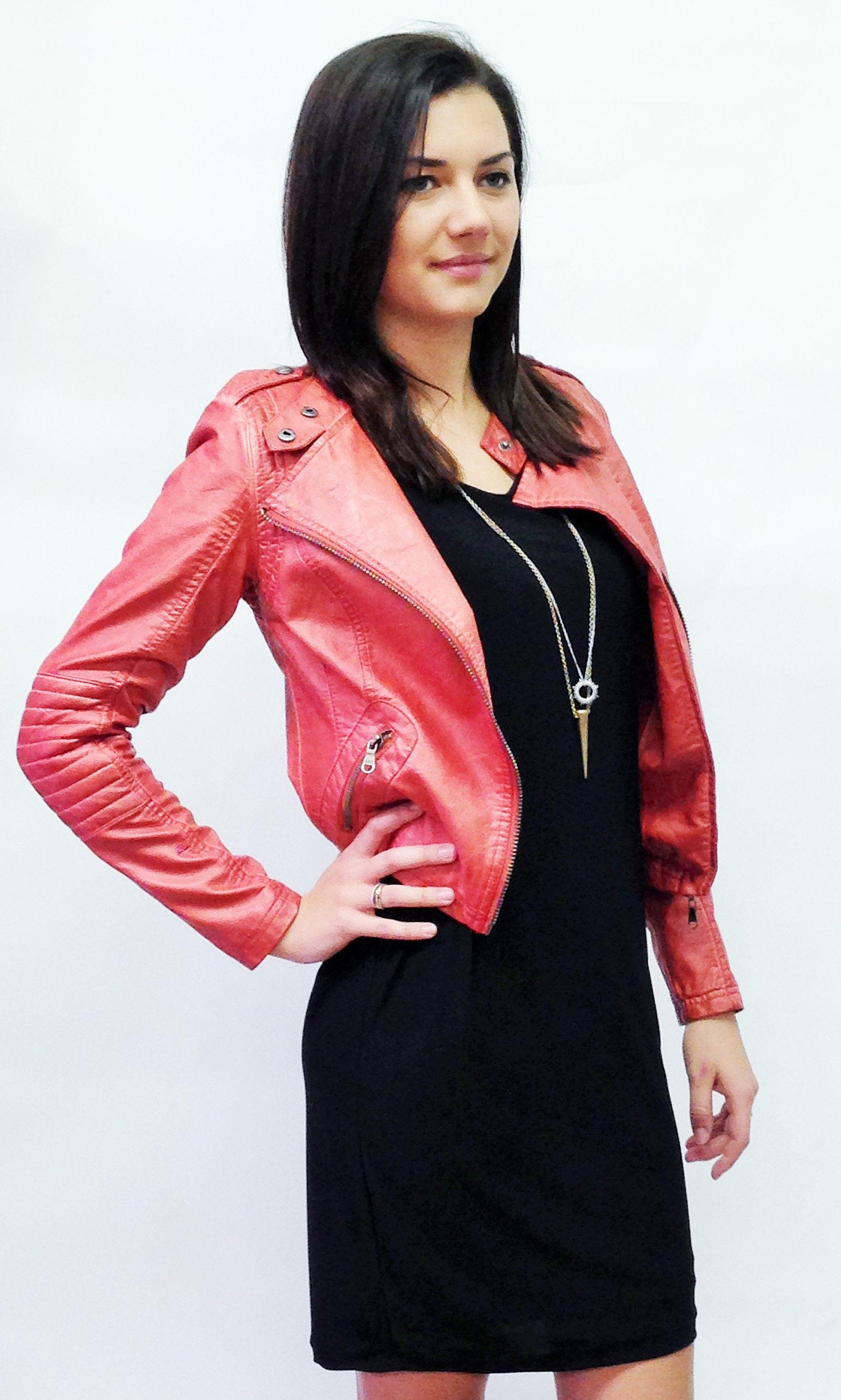 Faux Leather Moto Jacket Momentum Clothing Fall 2014