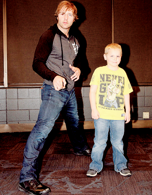 Dean kids fan pic  Ambrose, Reigns, and Rollins  : Photo | Dean