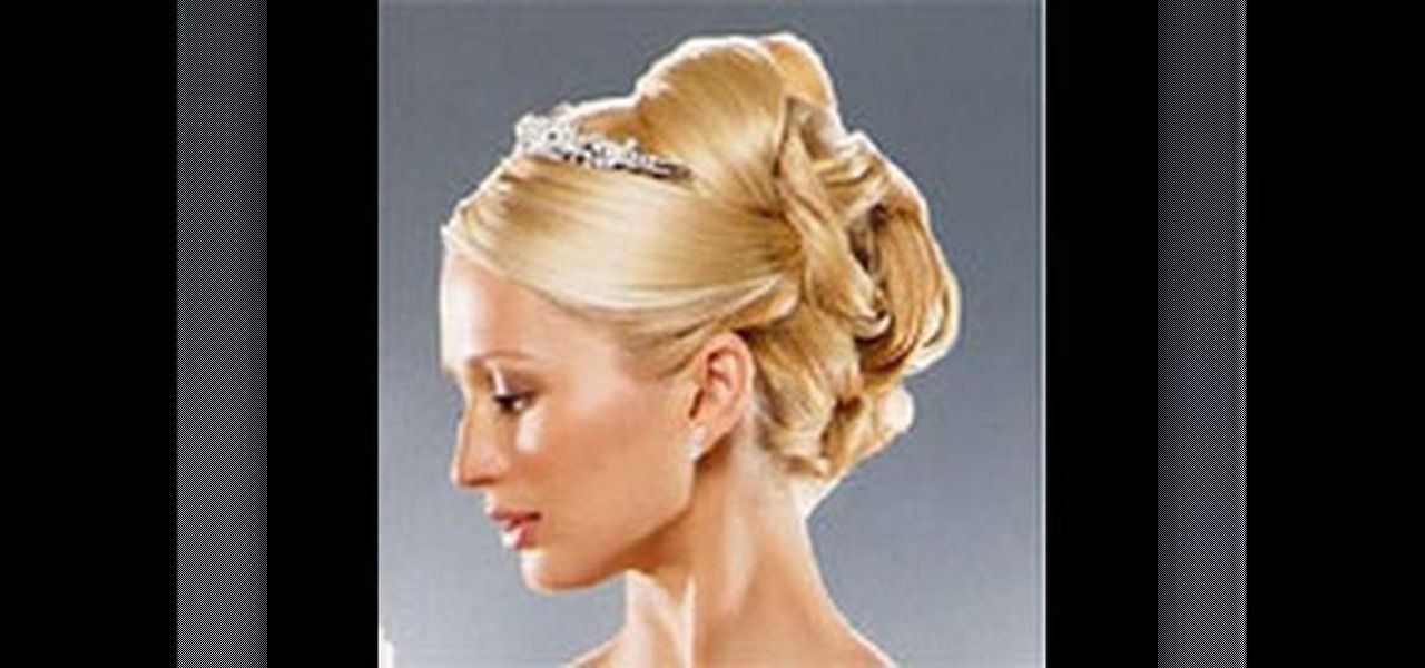 How to Create a formal bridal updo « Hairstyling