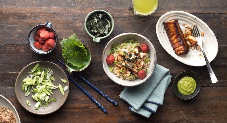 Photo of Leftover Rice Recipe: Green Tea Rice Bowl w/ Salmon – Thrive Market