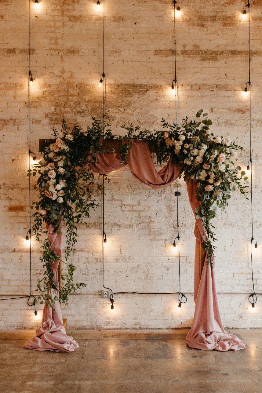 Lindsey Halbrook Weds Connor Paroski | Romantic Industrial Wedding