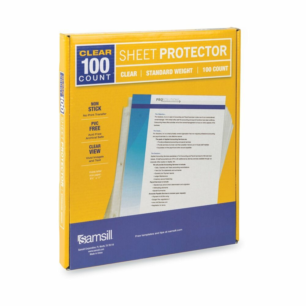 Sponsored Ebay Heavyweight Clear Sheet Protectors Box Of 100 Plastic Page Protectors Clear Sheet Protectors Sheet Protectors Clear Plastic Sheets
