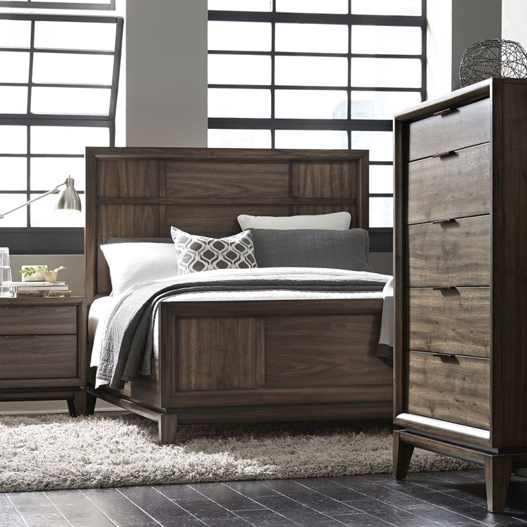 urban retro bedroom inspiredmidcentury modern design