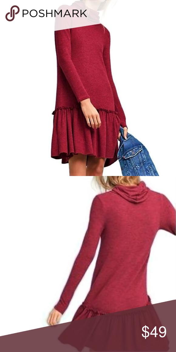 Sunday in Brooklyn Anthro Cozy Dress Soft Knit S
