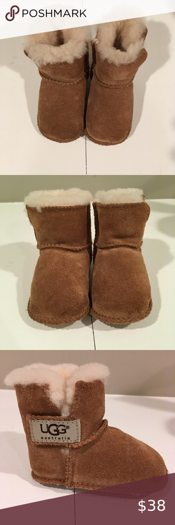, Uggs Erin bootie (baby) Erin bootie easy hook-and-loop tab, suede bootie plush lining that wicks moisture away, keeping feet dry and comfortable in th…, Jessica Perez Blog, Jessica Perez Blog