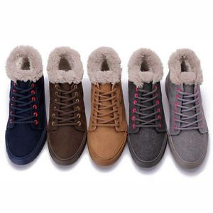 US5_9_New_Suede_Leather_Comfy_Warm_Lace_Up_Winter_Boots_flat_womens_chukka_shoes