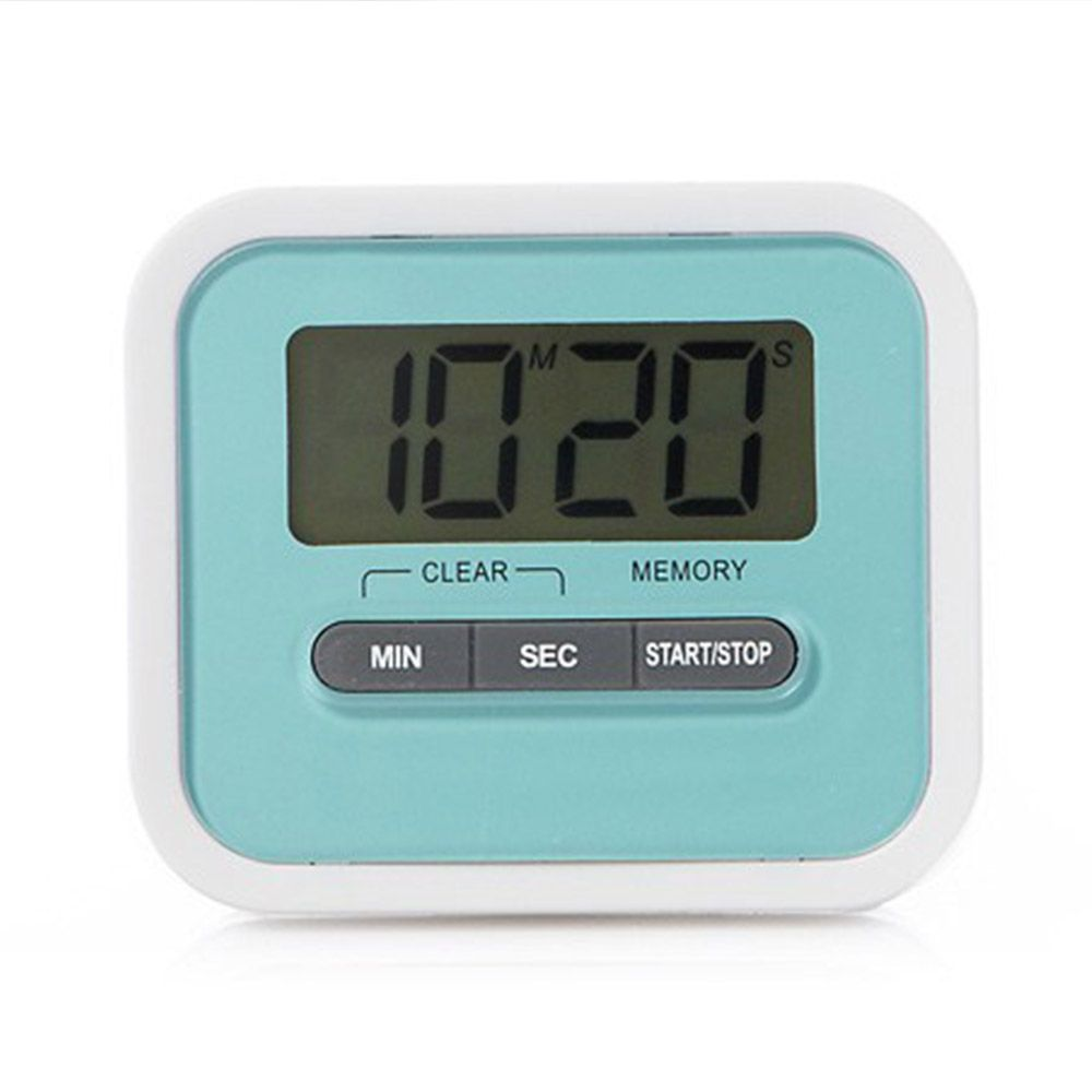Magnetic Digital Touch Screen Timer with New Louder 80 Decibel Alarm ...