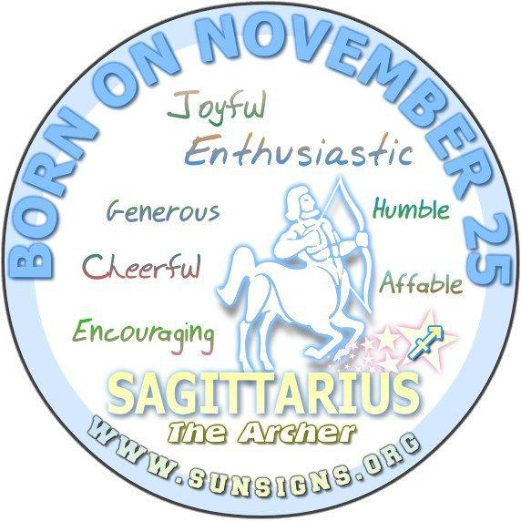 November 25 Zodiac Birthday Horoscope Personality of social responsibility