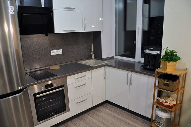 кухня в квартире студии домдизайн интерьера Kitchen Studio