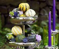 Garden Centerpiece for Garden Wedding #tischdekoherbstesstisch