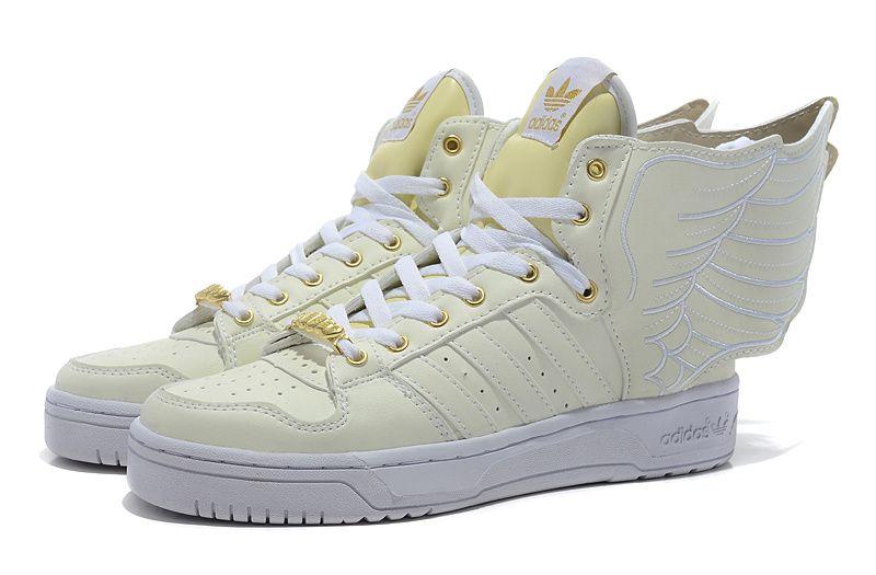 Jeremy Scott Wings 2.0 Shoes White Gold