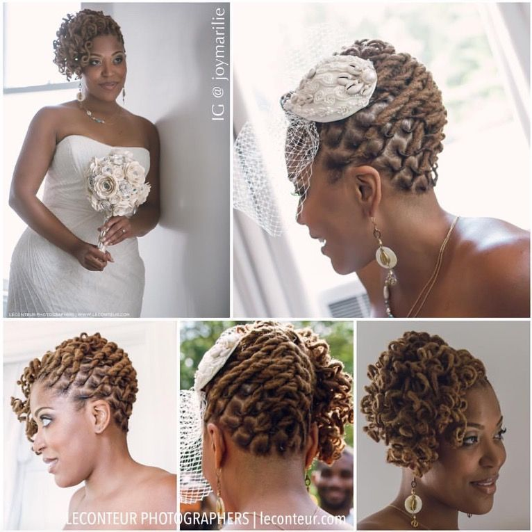 Wedding Hairstyle For Locs Locs Hairstyles Natural Hair Wedding