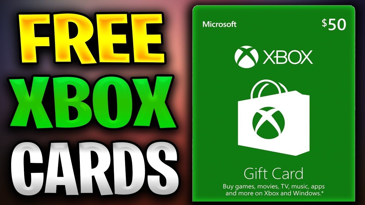 How To Get Free Xbox Gift Card Free Xbox Gift Card Codes New 2020 Xbox Gift Card Xbox Gifts Amazon Gift Card Free