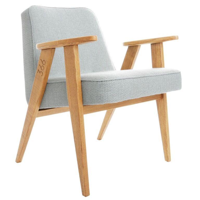 fauteuil 366 jozef chierowski slavia vintage Déco