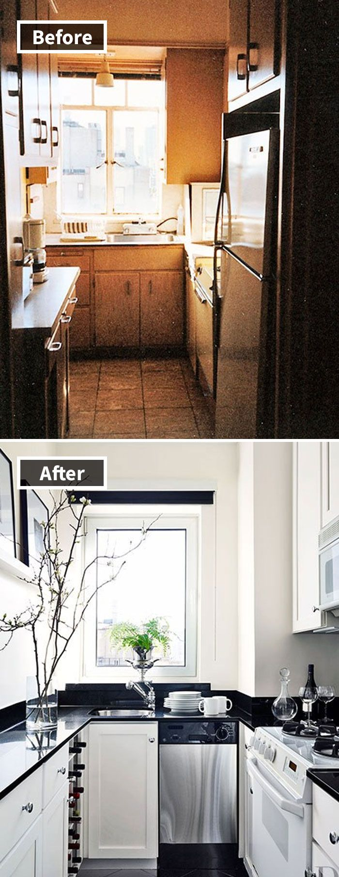 190 rooms before and after makeover maison relooking - Relooking salle a manger rustique ...