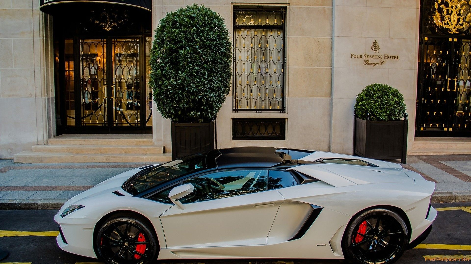 Lamborghini Aventador Roadster Wallpaper Hd 1920x1080