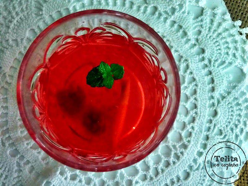 água aromatizada detox (anti-envelhecimento)