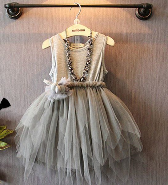 Gray Princess Dress for 3T,4T,5T | RudelynsSariSariStore.com