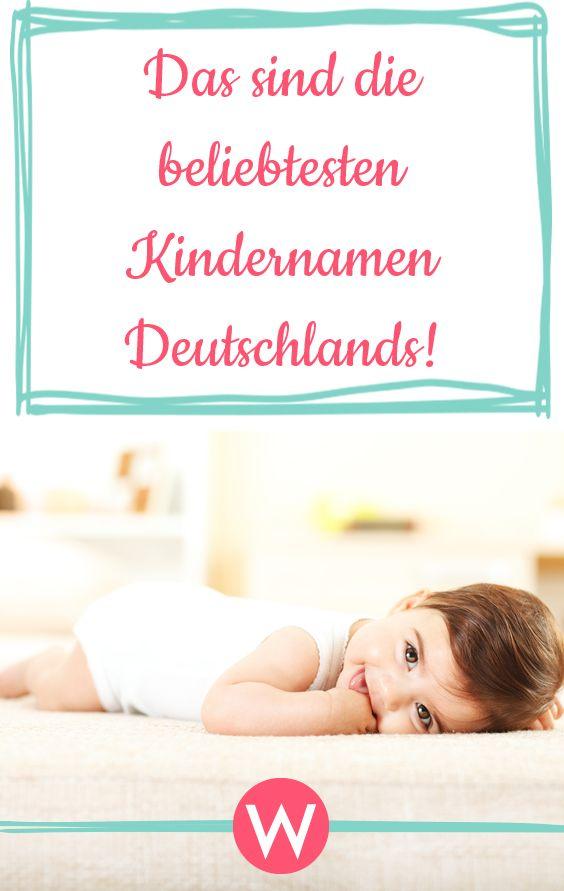 Das sind die beliebtesten Vornamen Deutschlands