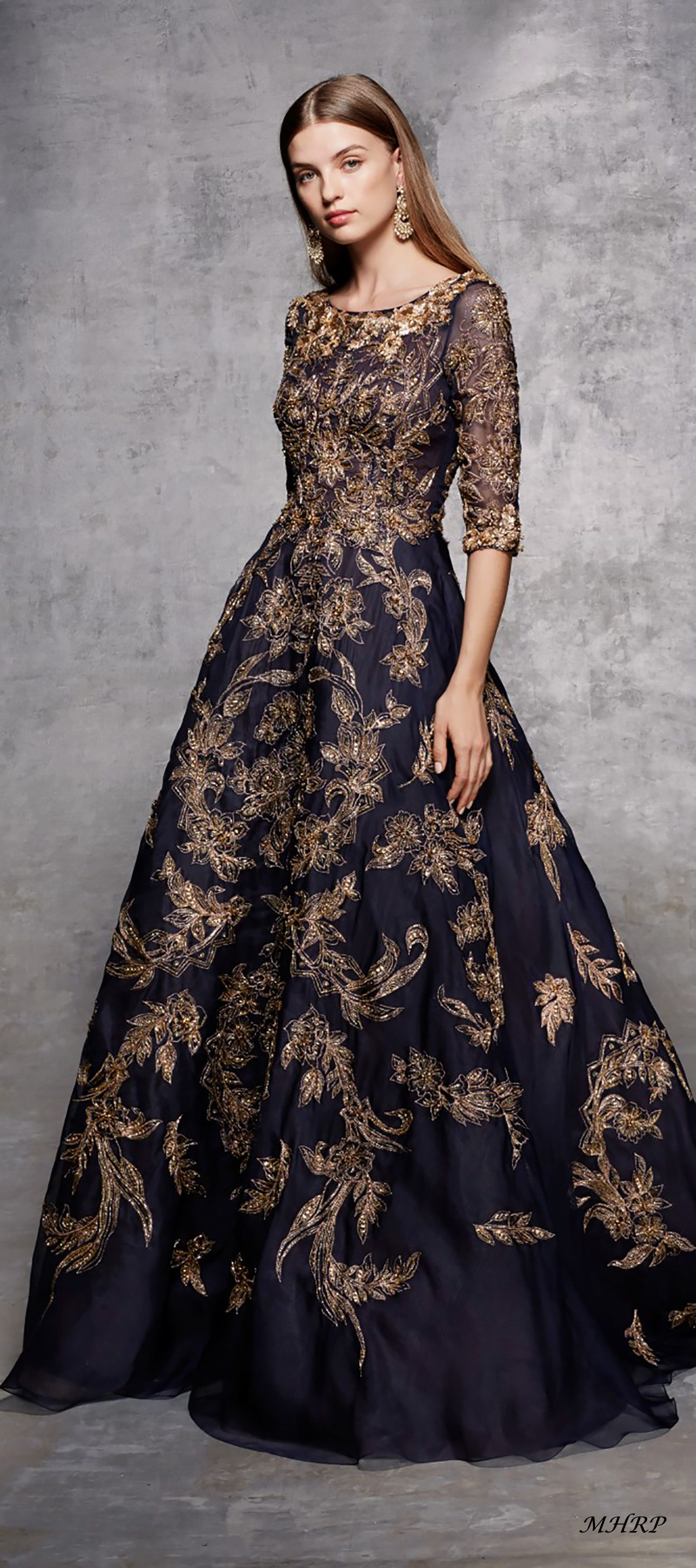 Marchesa Pre Fall 2018 image pinned from marchesa