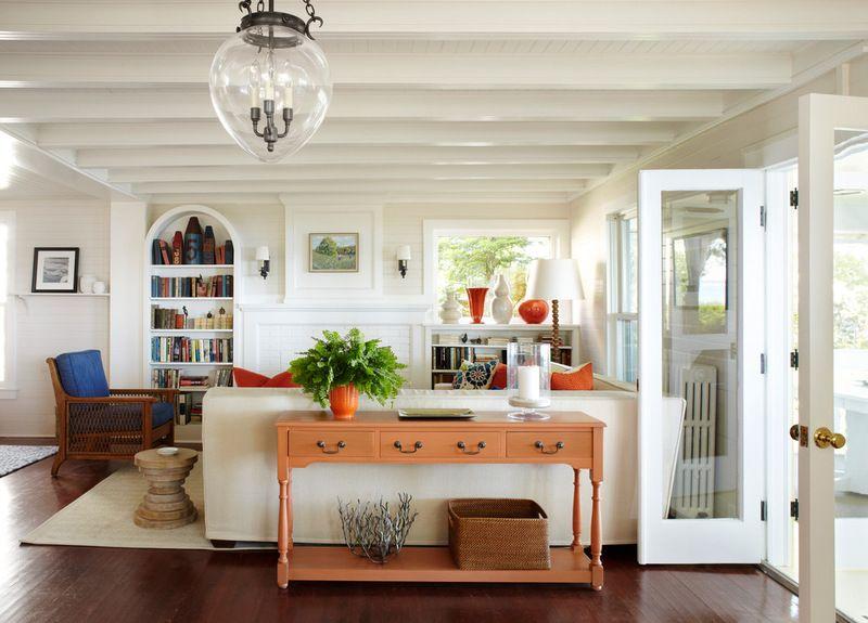 traditional living room by Tom Stringer Design Partners