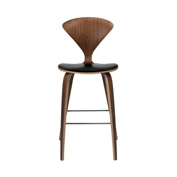 Beautiful Wood Stools with Back