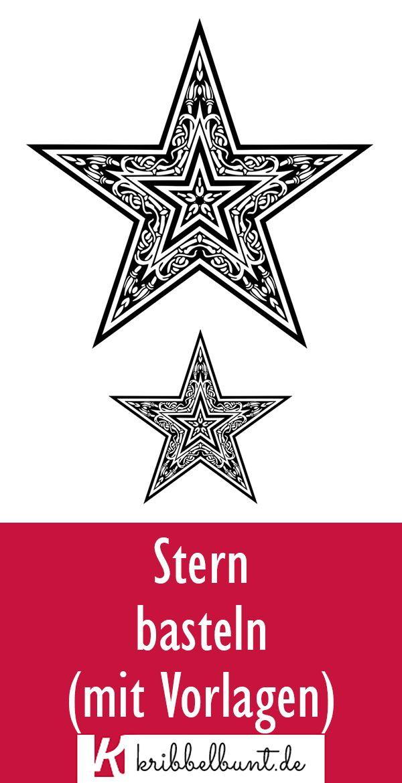 stern vorlage zum ausdrucken » pdf sternvorlagen  sterne