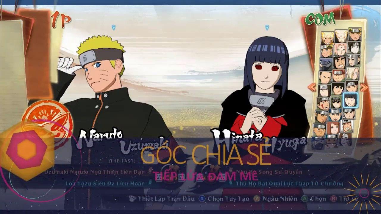 Naruto Shippuden Storm4 Mod Naruto The Last Moveset