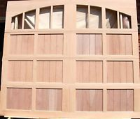9x8 Wood Overhead Carriage House Garage Door Amana Doors Model 103nw8a Carriage House Garage Doors Garage Door Design Carriage House Garage