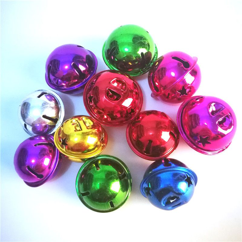 Free Shipping Buy Best 100pcs Jingle Bells Five-Pointed Star Bells