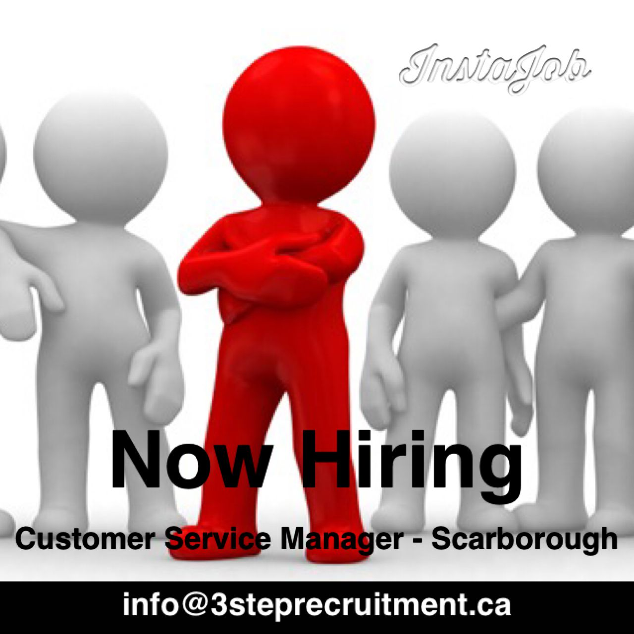 Now Hiring. Customer Service Manager Scarborough info