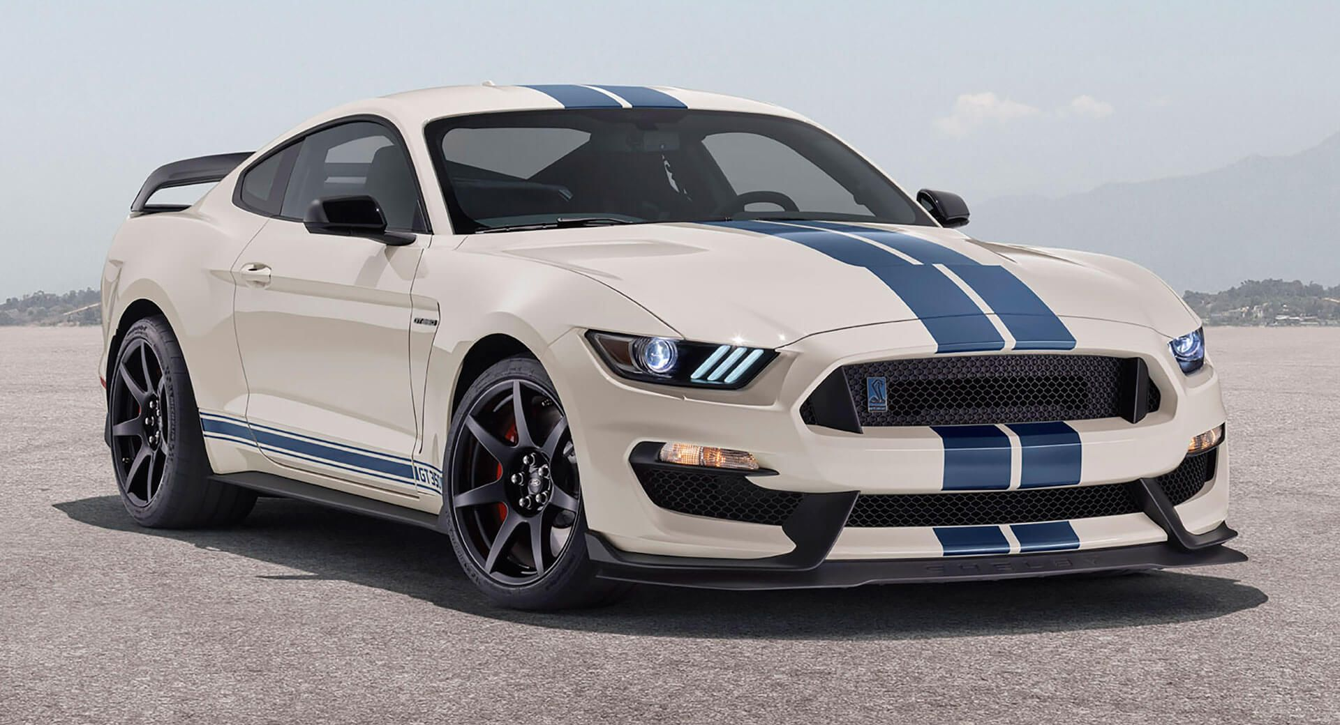 2020 Ford Mustang Shelby GT350, GT350R Get Heritage