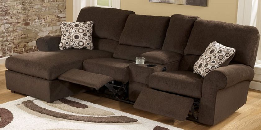 Small Sectional Sofa With Chaise And Recliner Small Sectional