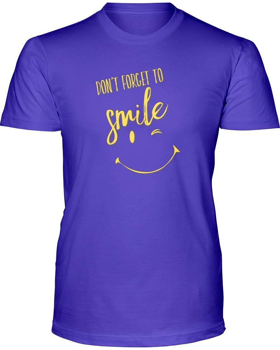 Don't Forget To Smile T-Shirt