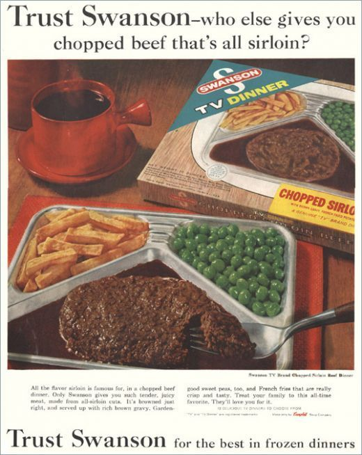 swanson tv dinners why we re we so excited to have these haha