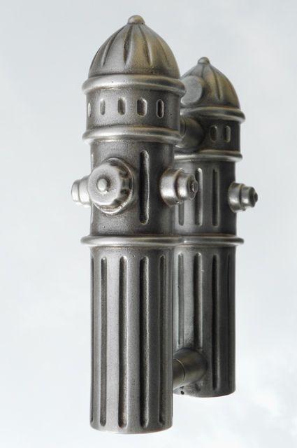 Firehouse Custom Hydrant Door Handles. Cool Door Pulls For The Fire  Station. Cast Aluminum