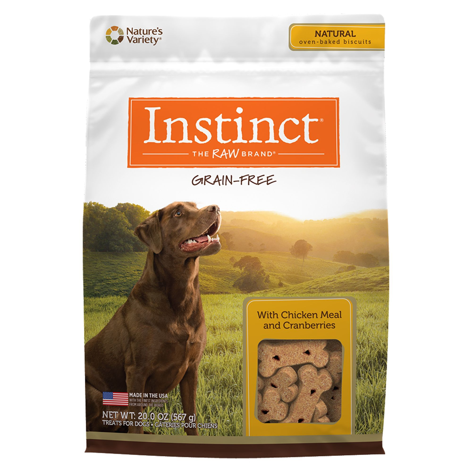 Nature S Variety Instinct Grain Free Dog Biscuit Products