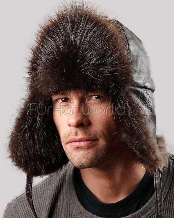 Long Hair Beaver Trapper Hat  FurHatWorld.com 08f62c3b0059