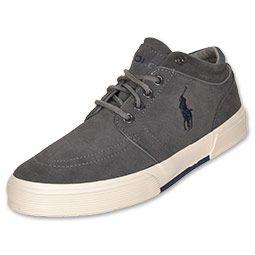 Polo Ralph Lauren Faxon Mid II Men's Casual Shoes $40