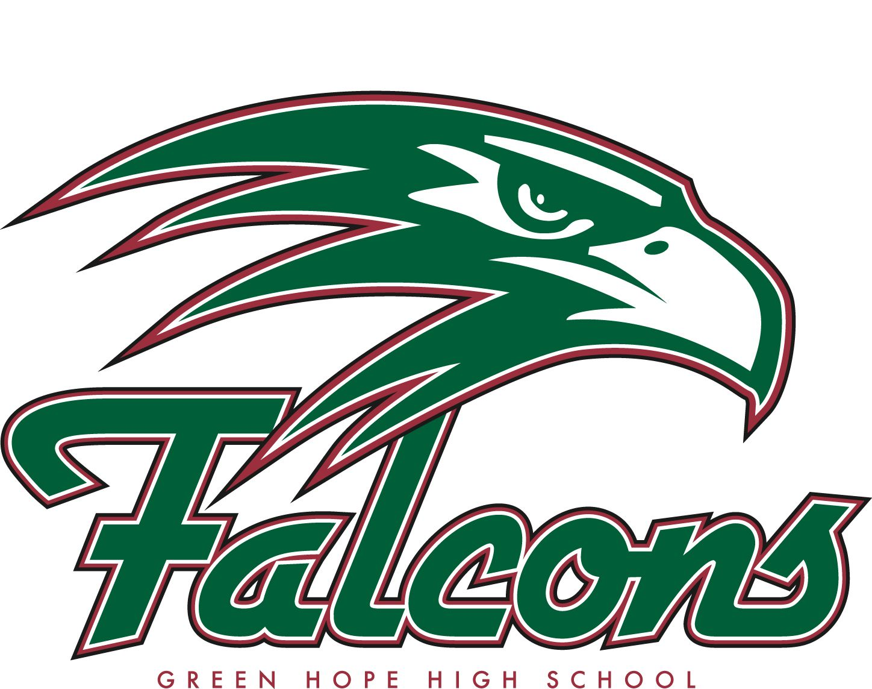 Gh Mascot Logo Green Hope High School Falcons Logos High School Shirt Senior Class Shirts