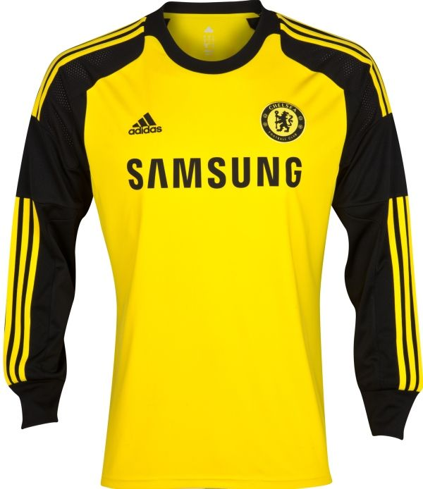 Chelsea Home LS Goalkeeper Football Shirt Custom FlagWigs Chelsea third  Jersey Shirt Kit 2014 2015 ... e1ed4d8a7