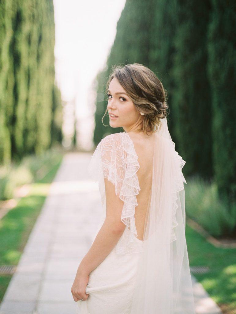 Taylor Andrew Bride Hairstyles Elegant Wedding Hair Ethereal