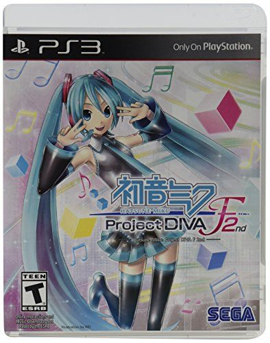Hatsune Miku Project Diva F 2nd Playstation 3 Check Out This