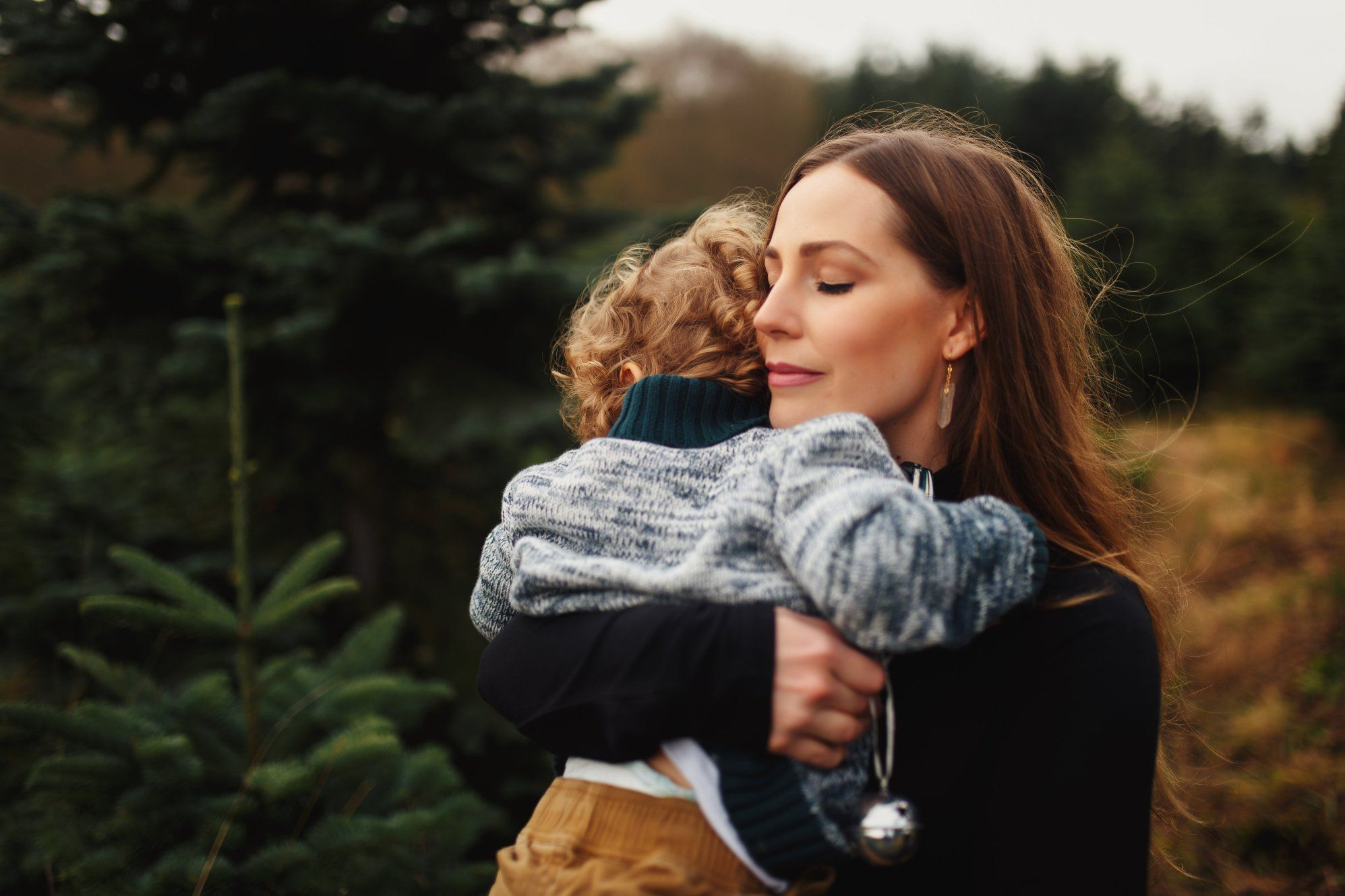 The most beautiful family Christmas photos s taken at a