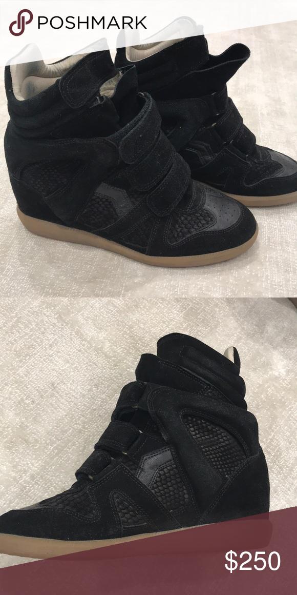 8a01ec15377 Isabel marant black sneakers Like new black Isabel marant sneakers Isabel  Marant Shoes Sneakers