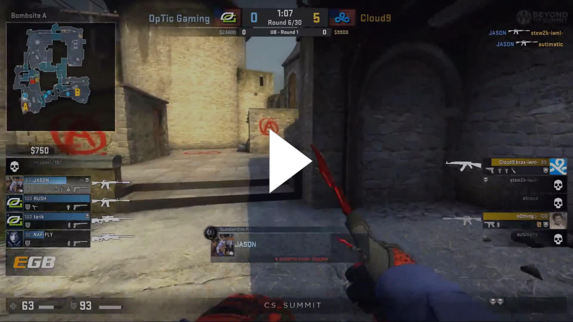 brax using the 4 ibp holo redline from years ago best games