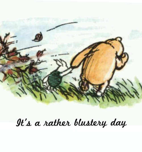 Image result for windy day quotes winnie the pooh